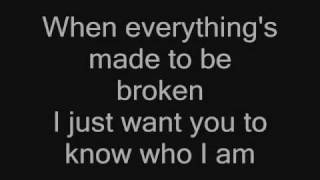 I just want you to know who I am [Iris] + Lyrics
