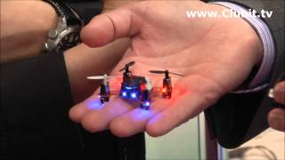Worlds Smallest RC Drone Nano Quad Copter