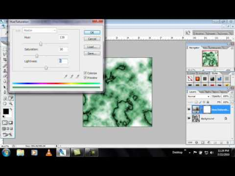 How to Make a marble texture in Photoshop « Photoshop