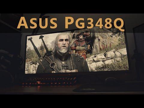 Asus PG348Q Review: UltraWide WQHD 100Hz IPS G-Sync Gaming Monitor