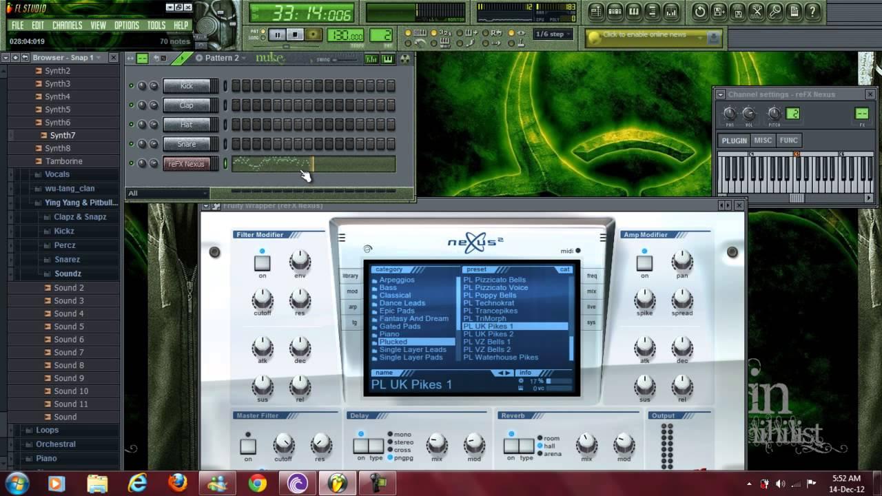 nexus 2 fl studio 10