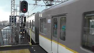 普通 大阪難波行き発車!! 近鉄5820系L/C