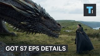Details you missed on season 7 episode 5 of