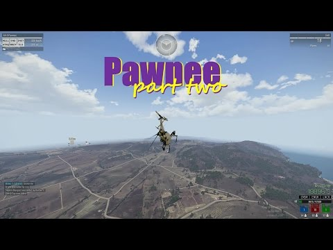 Arma 3 KOTH Best Pilot Moments: Pawnee part two