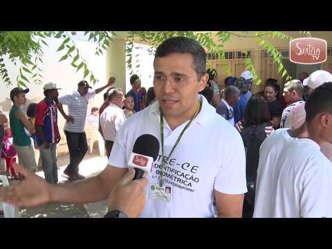 Quixeramobim: Cartório Eleitoral registra filas no último dia de cadastro biométrico