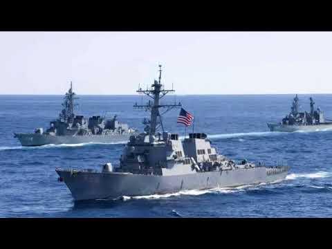 US-Zerstörer stößt mit Riesentanker zusammen