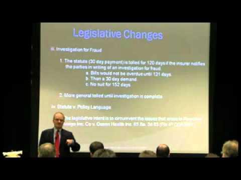 PIP Law Legislative Changes How It Affects Chiropractors