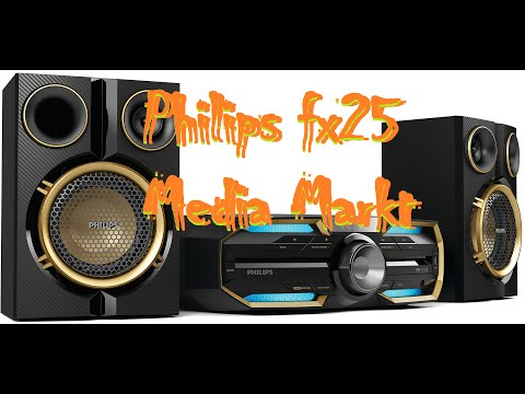 Philips FX25 Brutal Bass Test - Media Markt