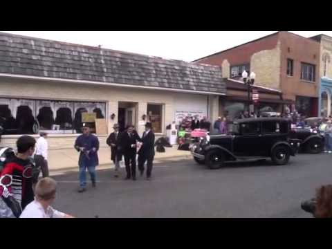 Bank Robbery At Model A Day In Sharon, WI