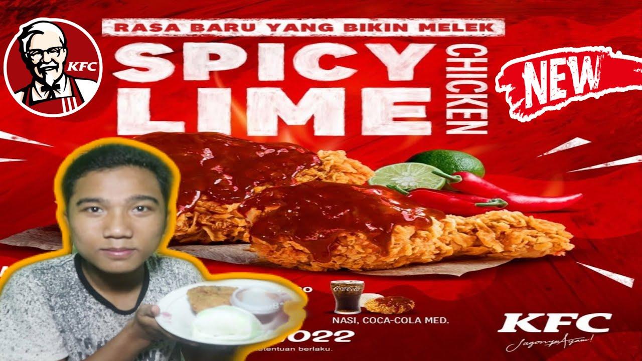 SPICY LIME CHICKEN MENU BARU KFC !! ENAK GAK YA ?? - YouTube