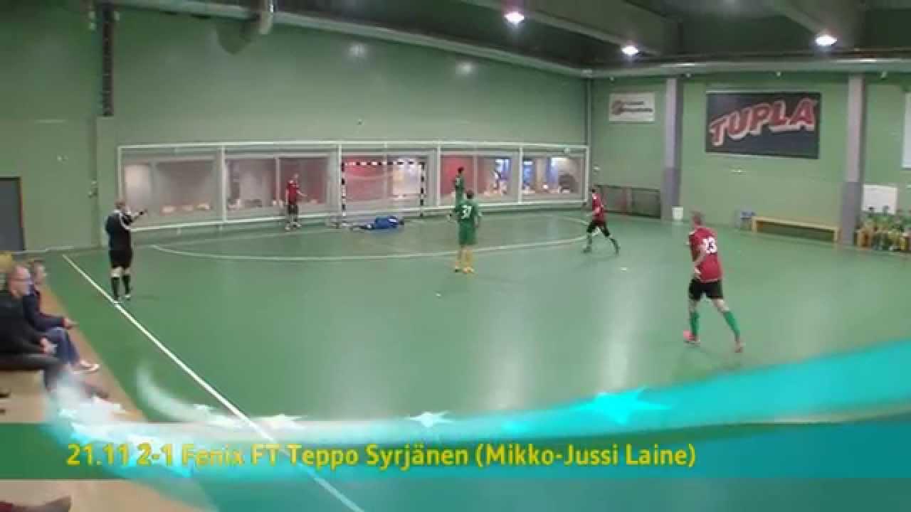 Ilves FS U20-Fenix FT 7-5ja, 4-4 (2-0) Futsal Cup 1. kierros 9.11.2014 - YouTube