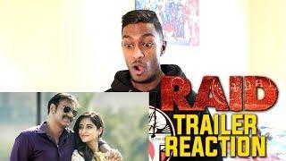 Raid Trailer Reaction & Review | Ajay Devgn | PESH Entertainment