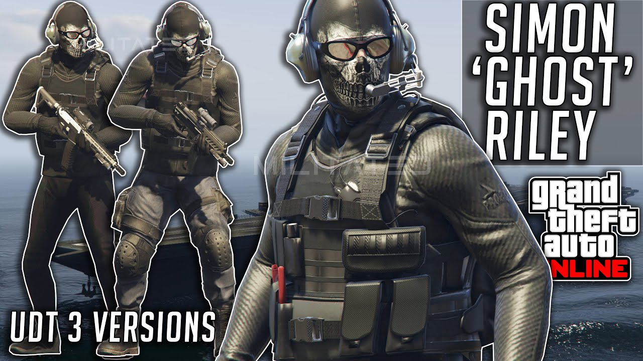 GTA 5 Online COD Ghost UDT Military Outfits After Patch 1.50 Clothing Glitches Diamond Casino Heist