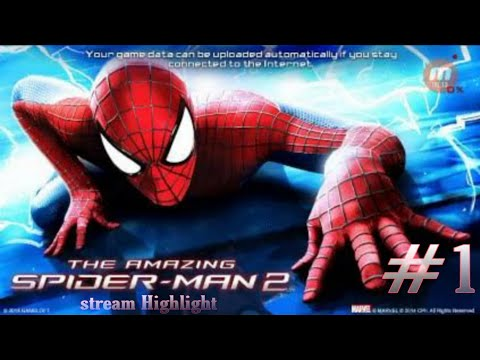 The Amazing Spider-Man 2 Stream Highlights #1  ||AbhiY||