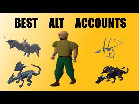 [OSRS] Which Alt Account Is The BEST?