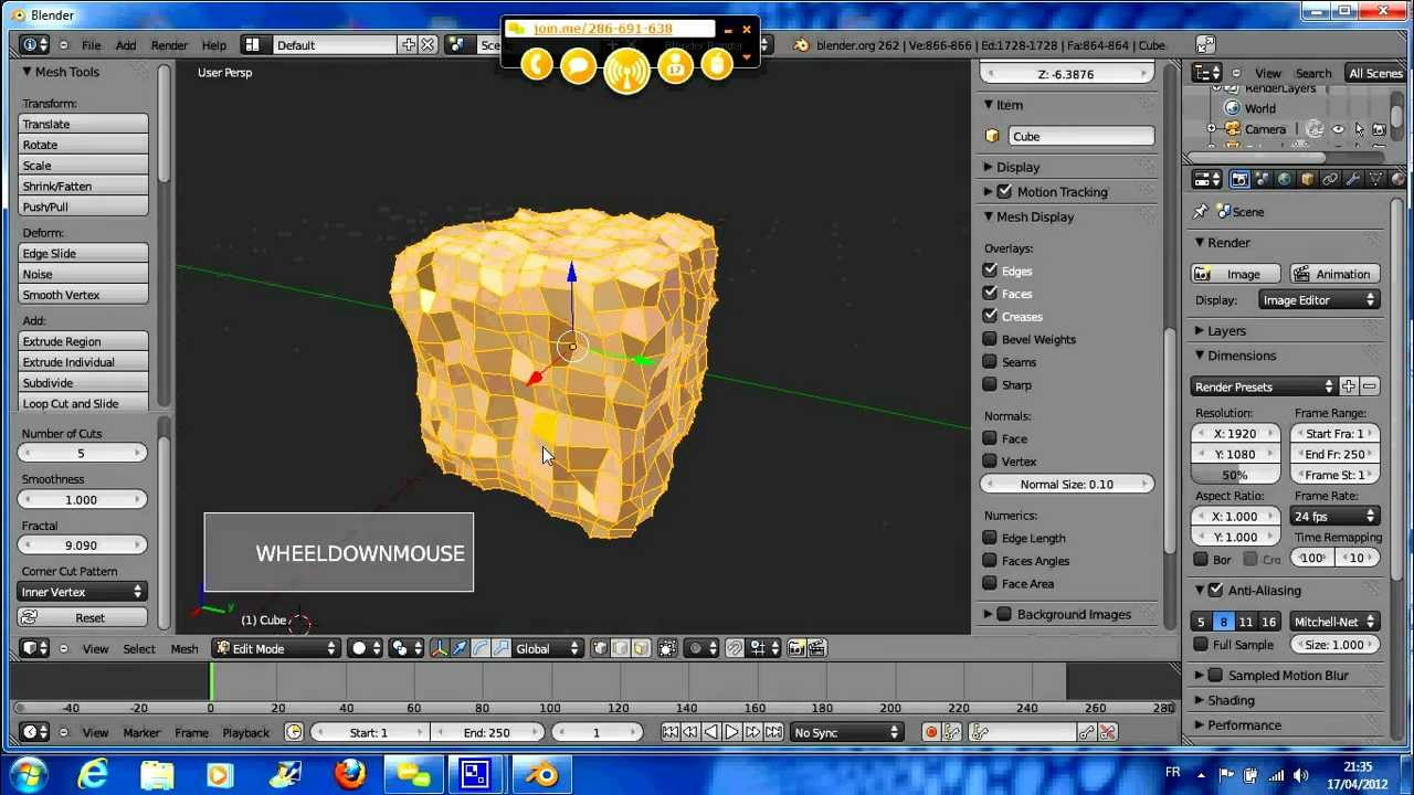 Blender tutoriel francais pdf