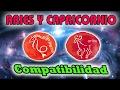 Compatibilidad Aries Capricornio 2018  COMPATIBILIDAD ENTRE ARIES Y CAPRICORNIO EN EL AMOR 2018