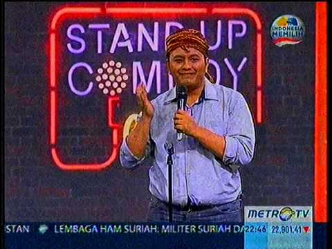 dicky candra ,, stand up comedy