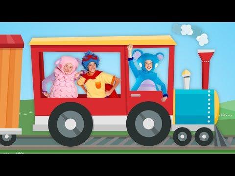 Tren de Carga y Más | Recopilación de Canciones Infantiles | Mother Goose Club en Español