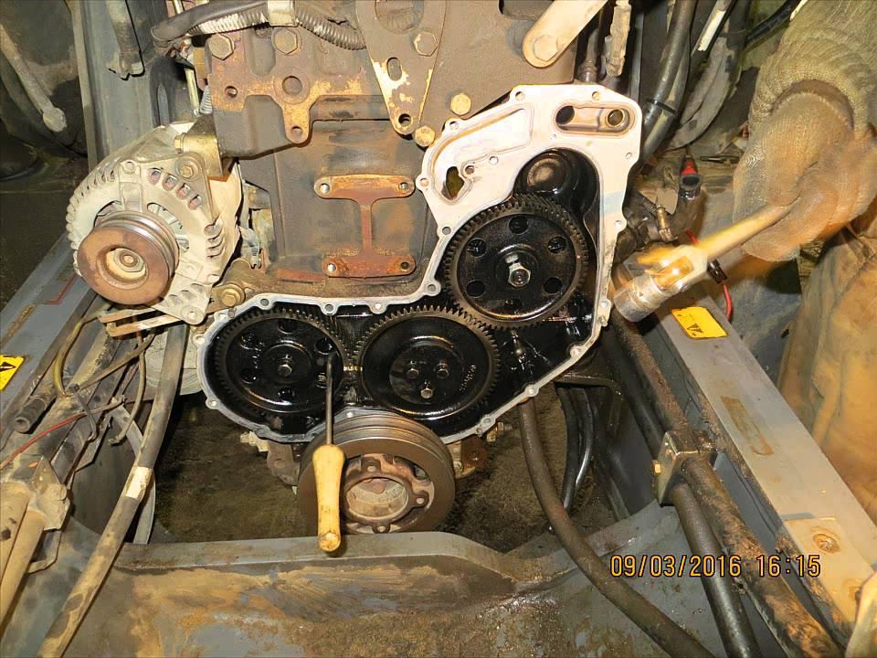 Снятие ТНВД Delphi  Экскаватор-погрузчикTerex 860 двигатель Перкинс
