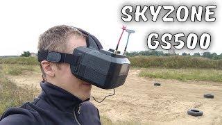 """Стильный, С Внешним Экраном, Dvr, Diversity, 5"""" ... Видеошлем Skyzone Gs500"""