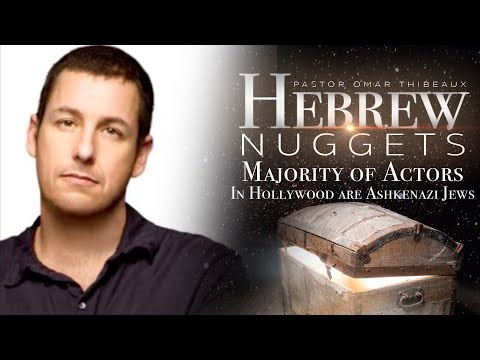 Hebrew Nugget - Majority of Actors In Hollywood are Ashkenazi Jews