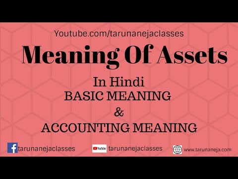 Meaning Of Assets