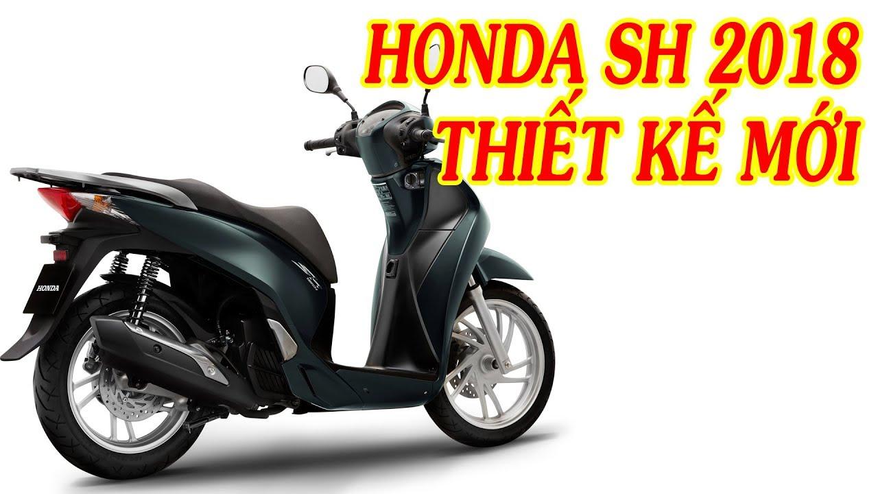 Xe Channel - Honda SH 2018 hình ảnh mới thiết kế mới