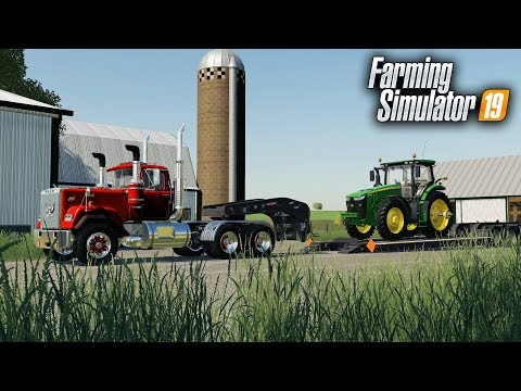 FS19- WE BOUGHT A NEW FARM! MOVING ACROSS THE STATE TO OUR NEW FARM