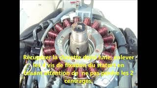 Remplacement courroie moteur Yamaha F115 AET
