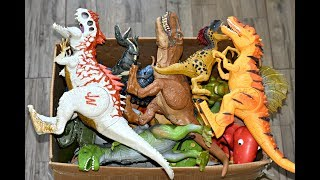 New Dinosaurs Box Toys Walking Dinosaur Light And Sound Indominus Rex Rampage T Rex