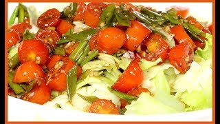 Surpreenda a todos com esta receita de salada de repolho