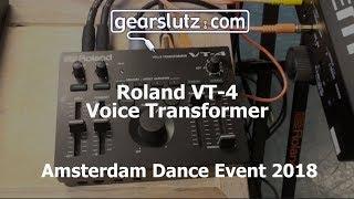 Roland VT-4 Voice Transformer @ ADE 2018
