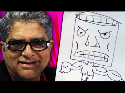 Speed Drawing with Deepak Chopra!