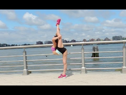 1st CHEER STRETCHING VIDEO!!! by Jackie Petosa