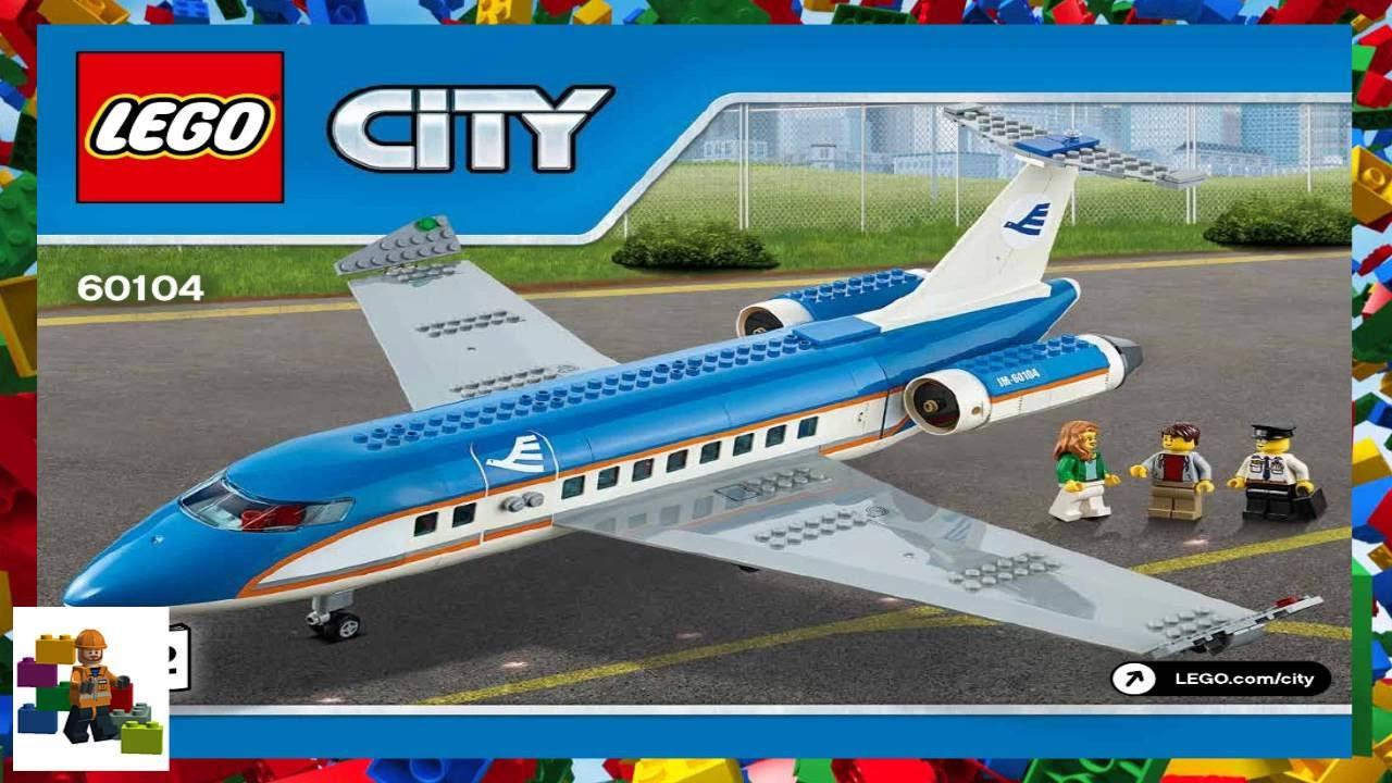 Lego Instructions City Airport 60104 Airport Passenger