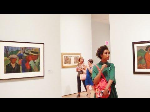 #327 США, В музее of Modern Art вместе с Грейс!