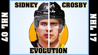 SIDNEY CROSBY evolution [NHL 07 - NHL 2017] 🏒