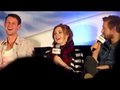 Matt, Karen & Arthur panel | walker stalker con san francisco 2015