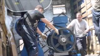 видео Углевыжигательные печи промышленного назначения