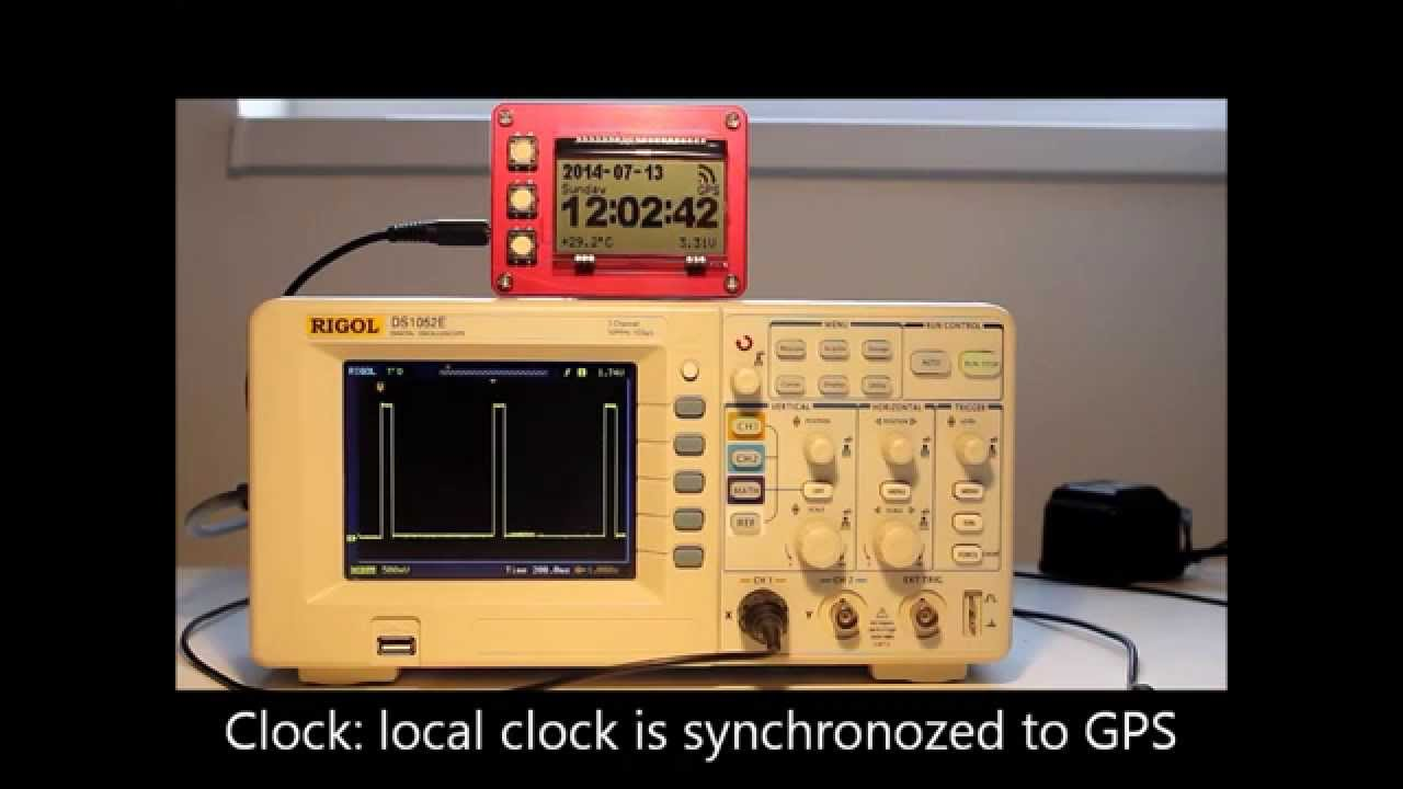 U0026quot Connect U0026quot  To An Atomic Clock In Space  Gps  Dcf77
