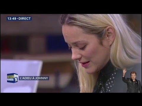 Marion Cotillard lit un texte biblique durant la cérémonie religieuse pour Johnny Hallyday