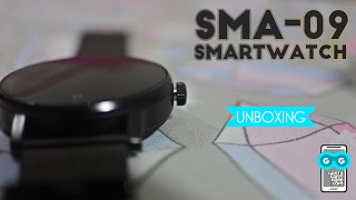 duel Smartwatch Part 1: Unboxing Smartwatch SMA-09 yang Casual