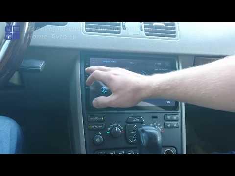 Магнитола для Volvo XC90 первого поколения