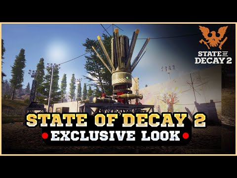 State Of Decay 2 EXCLUSIVE LOOK At MULTIPLE NEW FACILITIES For UPCOMING Next Big Update