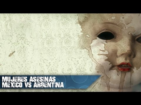 Mujeres Asesinas Argentina vs México  Elenco