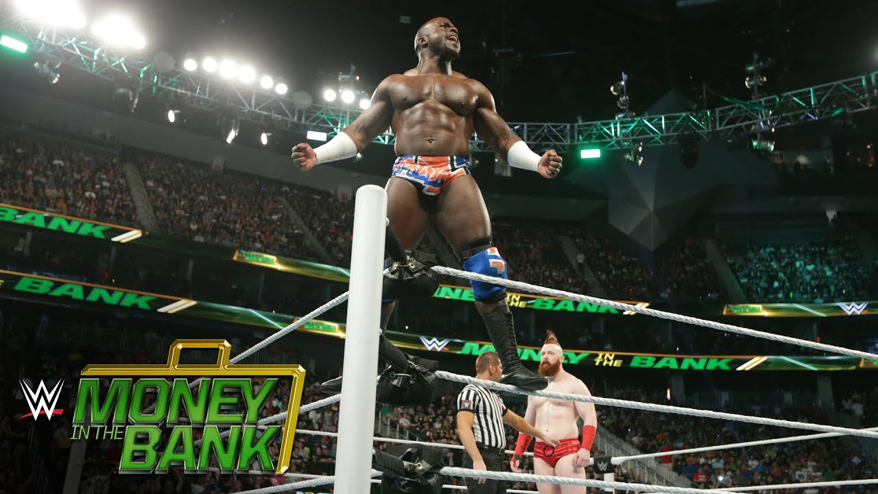 Image result for Apollo Crews vs. Sheamus – Money in the Bank