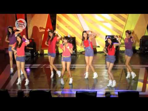 A Pink - It Girl mirrored dance fancam