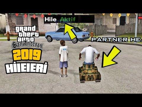 GTA SAN ANDREAS 2019 HİLELERİ - EFSANE!