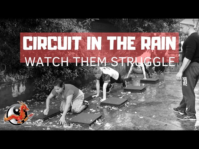 Plyometric Push Ups & Bear Crawl Warm Up | Raining? No excuses!